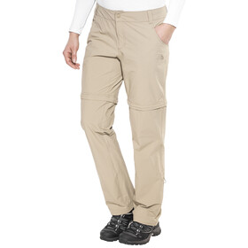 The North Face W's Exploration Convertible Pant Dune Beige